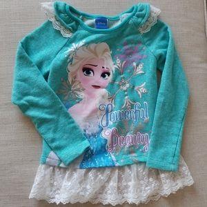 Disney Elsa sweatshirt